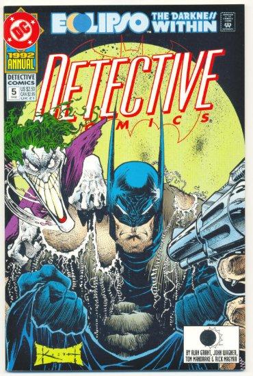 Detective Comics Annual #5 Eclipso Kieth Art VFNM 1992