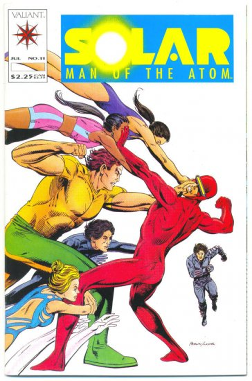 Solar Man of the Atom #11 Perlin Ditko Art Pre Unity Valiant