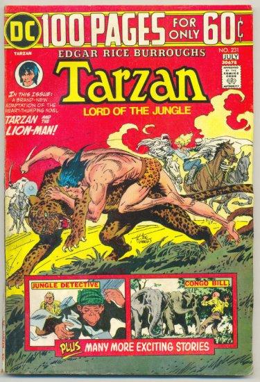 Tarzan #231 1974 100 Page Super Spectacular HTF !