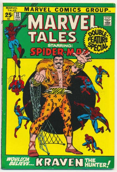 Marvel Tales #33 Lee & Romita Spidey Classics '72 Giant
