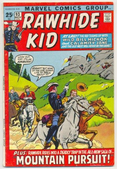 Rawhide Kid #93 Giant-Size 1971 Western HTF !