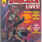 Dracula Lives #6 Very HTF 1974 Horror Magazine !