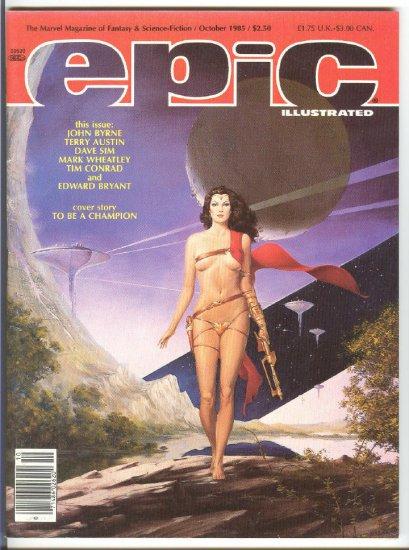 Epic #32 Byrne's Last Galactus Story 1985 HTF !