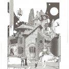 Marshall Rogers Fantasy Art Print 1982 HTF