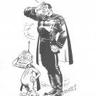 Berni Wrightson Captain Stern print 1982