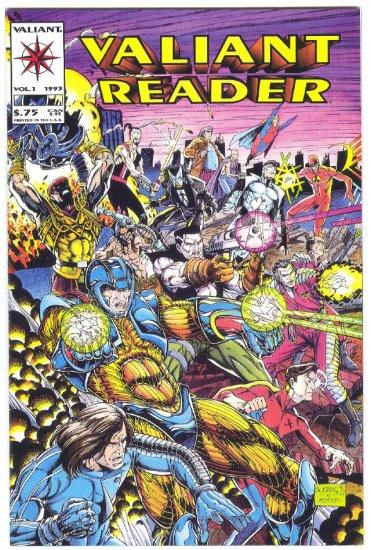 Valiant Reader #1 HTF Promo book 1993 !