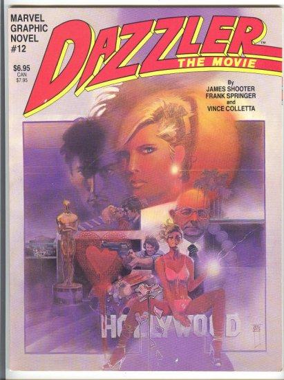 Dazzler The Movie Marvel Graphic Novel 1984 HTF