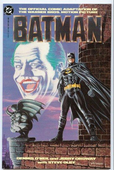 Batman 1st Movie Graphic Novel 1989 !