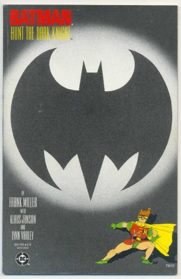 Batman The Dark Knight Return Book Three Miller Classic !