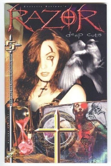 Razor Deep Cuts #5 London Night 1997 HTF