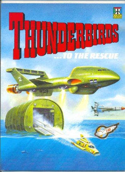 Thunderbirds ...To The Rescue UK Comic Album 1992 HTF !