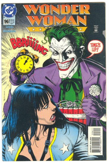 Wonder Woman #96 The Joker Deodato Art !