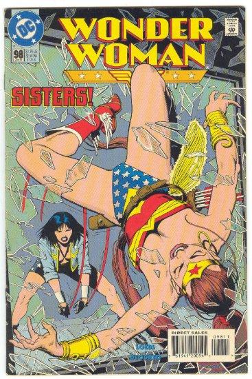 Wonder Woman #98 Sister Showdown Deodato Art !