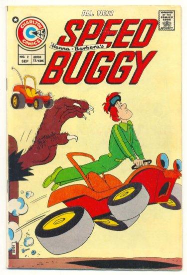 Speed Buggy #2 Very HTF 1970s Hanna Barbera Book
