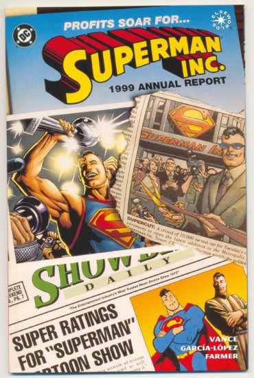 Superman Inc.Elseworlds Graphic Novel 1999