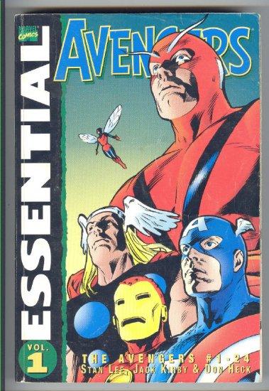 Essential Avengers #1 24 Classics Reading Copy