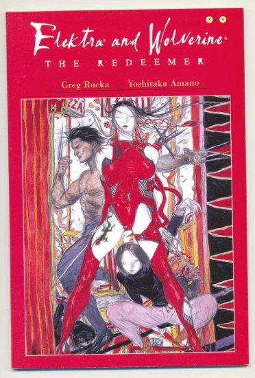Elektra Wolverine #3 2002 Manga Style Graphic Novel