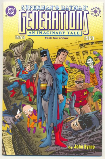 Superman Batman Generations #2 Elseworlds Graphic Novel NM