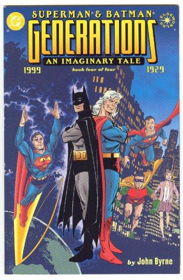 Superman Batman Generations #4 Elseworlds Graphic Novel NM