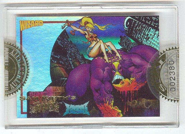 The Maxx Sealed Wizard Gold Card HTF !
