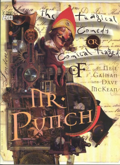 Mr. Punch Tragical Comedy Graphic Novel Gaiman & McKean