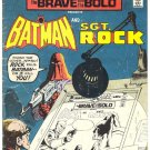 Brave And The Bold #124 Batman & Sgt. Rock w/ Aparo App