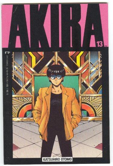 Akira #13 Epic Comics 1989 VF HTF !