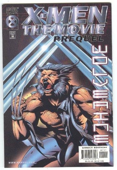 X-Men The Movie Wolverine Prequel Graphic Novel
