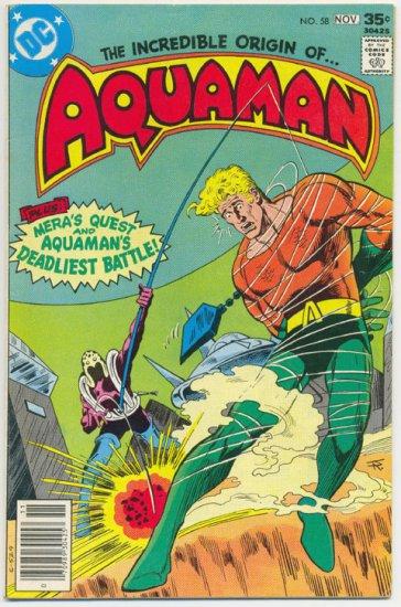 Aquaman #58 Origin Issue 1977 Aparo Art !