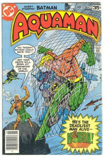Aquaman #61 Guest App Batman 1978 Newton Art !