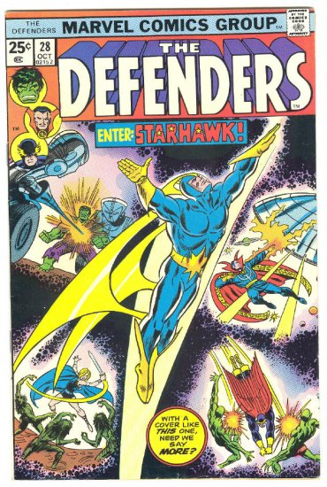Defenders #28 1st Appearance Starhawk !