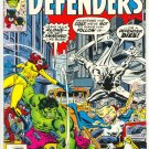 Defenders #49 Who Remembers Scorpio Giffen Art Moon Knight !