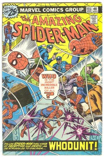 Amazing Spider-Man #155 Whodunit Mystery Issue !