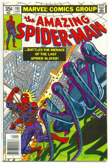 Amazing Spider-Man #191 Wanted For Murder !