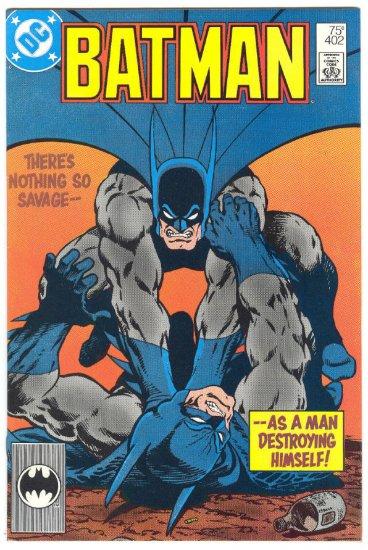 Batman #402 Batman vs Batman? Starlin Art !