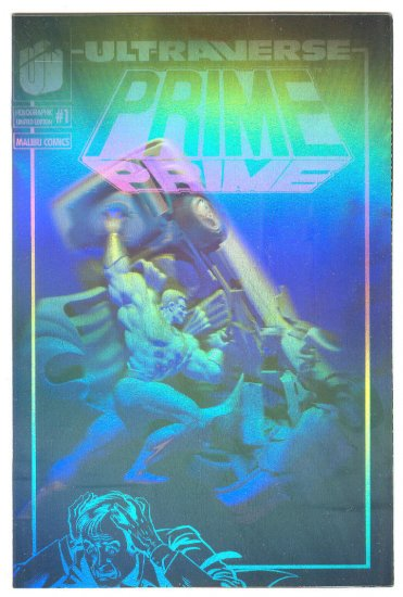 Prime #1 Holographic cover edition HTF Promo book