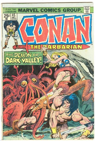 Conan The Barbarian #45 The Demon Of Dark Valley !