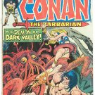 Conan The Barbarian #45 The Demon Of Dark Valley !