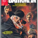 Darkman Magazine B&W Movie Adaptation 1990