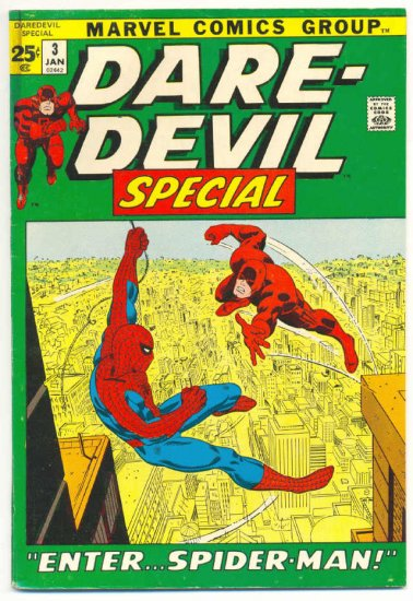 Daredevil Special #3 Enter Spider-Man HTF Giant 1972
