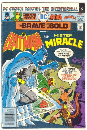 Brave And The Bold #128 Batman & Mister Miracle Aparo art