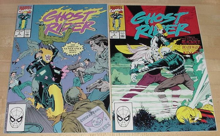 Ghost Rider #23 Wrath Of The Water Wizard 1977