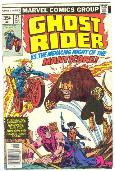 Ghost Rider #27 Hawkeye & Two Gun Kid App