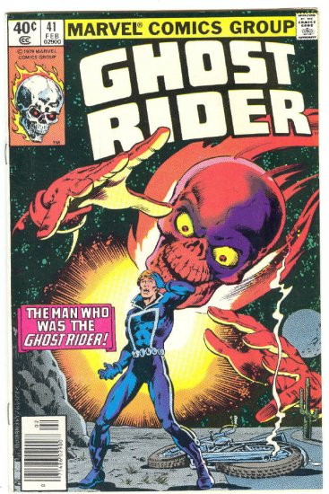 Ghost Rider #41 The Man Who Was Ghost Rider