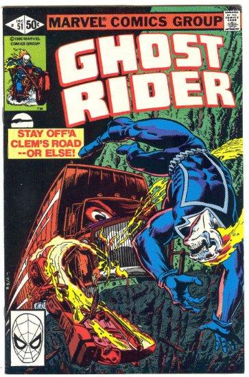 Ghost Rider #51 The Diesel Of Doom