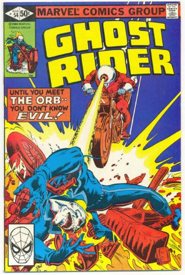 Ghost Rider #54 The Orb Is Back!
