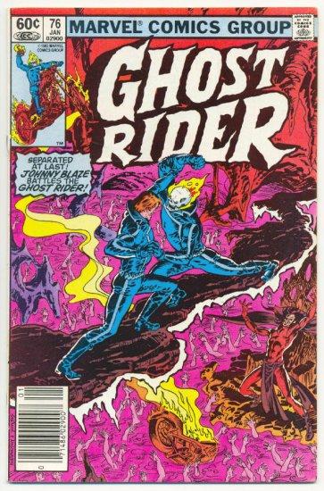 Ghost Rider #76 Johnny Blaze vs The Demon HTF Issue!