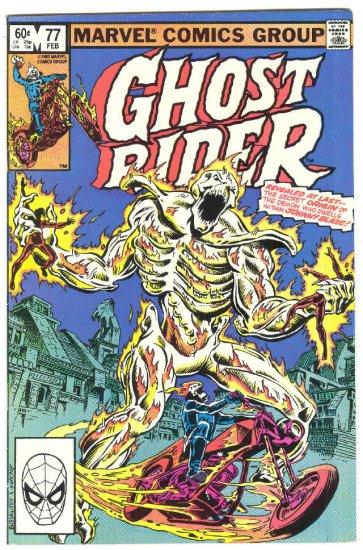 Ghost Rider #77 Origin Of The Demon HTF Issue!