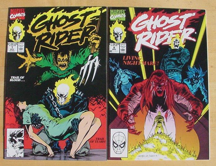 Ghost Rider #78 Nightmare Strikes HTF Issue!