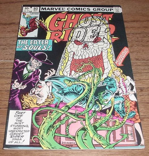 Ghost Rider #80 The Eater Of Souls HTF Issue